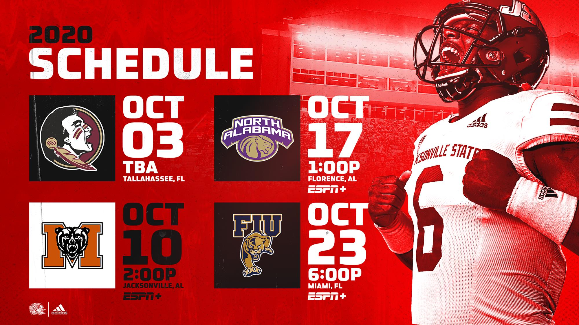 Jsu S Fall Schedule Set Home Game Policies Announced Jacksonville State University Athletics